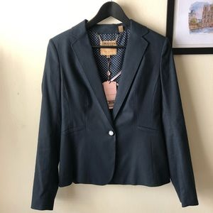 NWT TED BAKER Navy suit jacket s 8